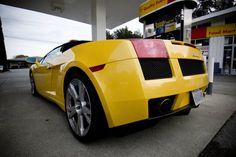 Lambo Gallardo rear #ClubSportiva 2007 Lamborghini Gallardo, Vehicles, Car, Vehicle, Tools