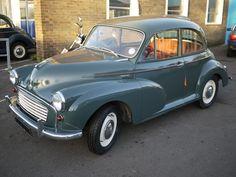 Morris minor Colour Schemes: Clarendon Grey