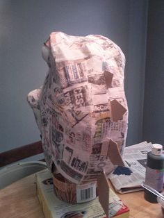 CAM00323 | Back view of the completed paper mache work. | jamer3108 | Flickr