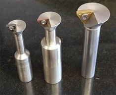 Dovetail Cutters - Homemade dovetail cutters constructed from bar stock.