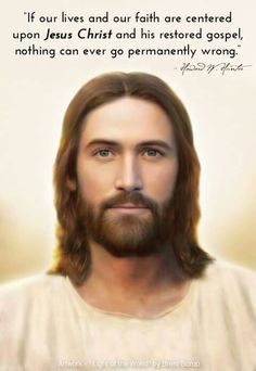 . Uplifting Thoughts, Uplifting Quotes, Lds Quotes, True Quotes, Arte Lds, Jesus Christ Painting, Pictures Of Jesus Christ, Christian Quotes, Christian Art