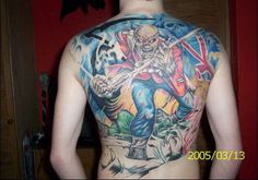 Iron Maiden Tattoo