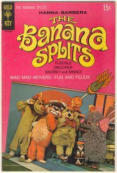 The Banana Splits Adventure Hour (1968-70, NBC) — 1969 comic book