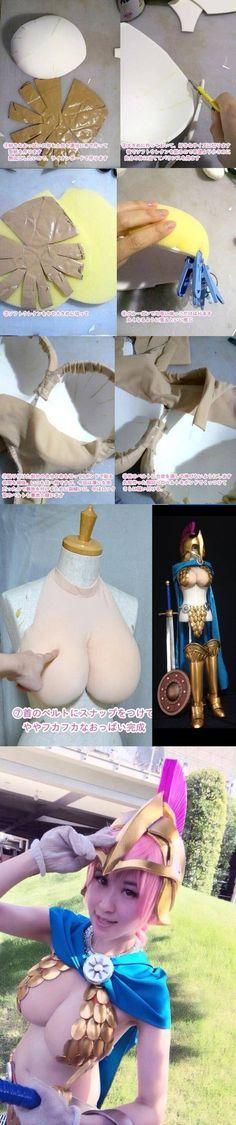 How to make unrealistic fantasy boobs!