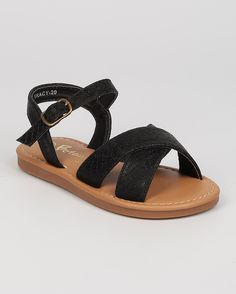New-Girl-Betani-Tracy-20-Leatherette-Snakeskin-Open-Toe-Cross-Band-Flat-Sandal