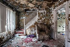 Few things are as sad as an abandoned home, because in them we see reflections of our own surroundings without us, but for that very reason, few things are so compelling. By Matthew Christopher of Abandoned America.
