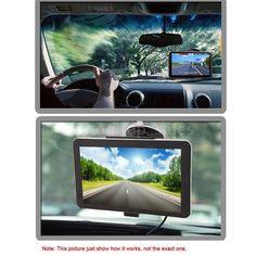 KKMOON Portable 7 HD Screen Car GPS Navigation FM USB MP4 Video  Free Map P3D3