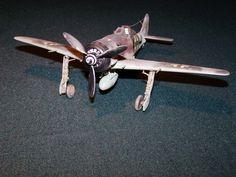 Focke-Wulf Fw 190 Würger  Esc 1:48 de OTAKI Autor ROBERTO BARSOTTI BRASSARA Detallado desde cero.