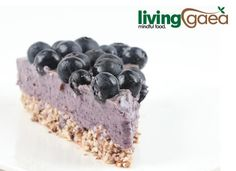 I made this raw blueberry cheesecake using Chef Moy's recipe, awesome!