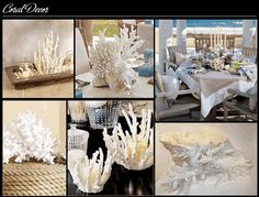 love coral decor!