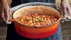 Seitan, Chorizo, Paella, Food Art, Chili, Soup, Fresh, Vegetables, Cooking