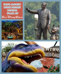 There is a secret dining plan available at Walt Disney World that could save you a lot of money when visiting the parks!