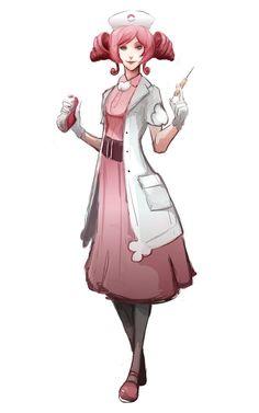 Nurse Joy by MrRedButcher on DeviantArt