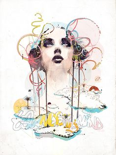 ILLUSTRATIONS BY RAPHAËL VICENZI  Raphaël Vicenzi is a self-taught illustrator whose artworks and watercolour