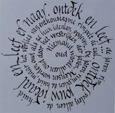 Afbeeldingsresultaat voor kalligrafie alfabet met pijltjes