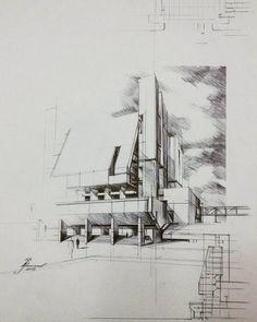 """#arch_more #iarchitecture #superarchitects #next_top_architects #sketch_arq #archilovers #archisketcher #architecture_hunter #pencil #design #designer…"""