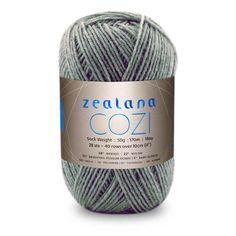 Colour Cozi Peppermint, Artisan Sock weight, Artisan Cozi, Zealana Cozi Peppermint, Zealana Cozi, Peppermint C06, Zealana Peppermint, Knitting Yarn, Knitting Wool, Crochet Yarn