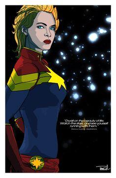 Captain Marvel by tsbranch on deviantART