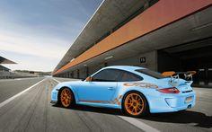 Porsche GT3 RS Gulf Blue