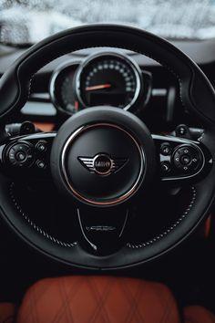 Black Mini Cooper, Mini Cooper Models, Mini Cooper Custom, New Mini Cooper, My Dream Car, Dream Cars, Mini Cooper Wallpaper, Cooper Car, Mini Cooper Convertible