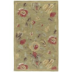 @Overstock - Lawrence Light Olive Floral Hand-Tufted Wool Rug (5'0 x 7'9) - Hand-crafted in India the 'Lawrence' rug is the true definition of craftsmanship and outstanding value.   http://www.overstock.com/Home-Garden/Lawrence-Light-Olive-Floral-Hand-Tufted-Wool-Rug-50-x-79/8569947/product.html?CID=214117 $159.19