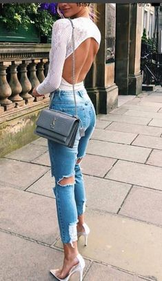 7f44fcc1fc5 Take a look at the best winter Bodysuit 2018 in the photos below and get  ideas for your outfits! Helena Glazer + kills it + cute winter style +  distressed ...