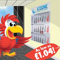 A constant reminder of your brand for your clients that lasts the entire year? The Tri-monthly Calendars sound like a great investment! http://www.promoparrot.com/tri-monthly-calendar.html #calendar #promo #newyear