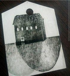 TARJETA DE REGALO MINI NAVIDAD Material: Hoja de Revista. #papel #reciclaje #paperlove #manualidades #arte #artesania #tarjetas #mensaje #minitarjetas #tarjetaderegalo #navidad #navidad2015 #barco #casa