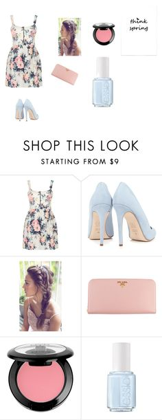 """""""Skip Winter With Me"""" by arugalagirl13 ❤ liked on Polyvore featuring Cameo Rose, Dee Keller, Prada, NYX and Essie"""