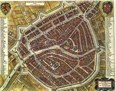 Cycling without a helmet: Star fort cities Fantasy City, Fantasy Map, Old Maps, Antique Maps, Star Fort, Village Map, Sketches Tutorial, Dungeon Maps, L5r