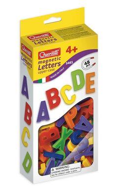Magnetické písmená a číslice - veľká abeceda