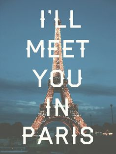 "@Liz Denfeld i feel like this should be our friendship motto  ""I'll meet you in....""  :)"