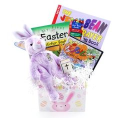 Sugar free easter gift basket gift basket ideas pinterest fun easter gift basket easter jelly bean coloring book jellybean book mark holy negle Gallery