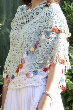 Gypsy Shawl By Sandra Paul - Purchased Crochet Pattern - (ravelry)