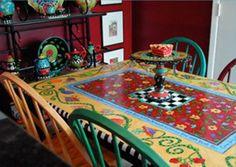 Joyce Shelton table
