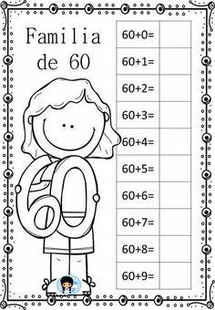 Teaching Second Grade, Teaching Math, First Grade, Math Games, Activities For Kids, Preschool Painting, Tens And Ones, Simple Math, School Worksheets
