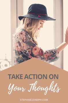 Do you let thoughts slip away before taking action on them? I offer easy steps on how you can take action on your thoughts. Holistic Care, Holistic Healing, Wellness Activities, Wellness Tips, Writing Therapy, Mom Body, Declutter Your Mind, Mental Health Journal, Simple