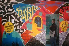 'Tour 13' Street Art Project, Paris