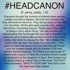 Percy Jackson Head Canon, Percy Jackson Memes, Percy Jackson Books, Percy Jackson Fandom, Rick Riordan Book Series, Rick Riordan Books, Hunter Of Artemis, Thalia Grace, Story Quotes