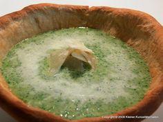 Suppenschüsseln aus Brotteig