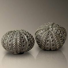 L'Objet Sea Urchin salt & pepper shakers . $195.00. These whimsical salt pepper shakers from L'Objet are shaped like sea urchins. Perfect as a gift or for your own table. Shipped in a presentation box for storage or gift giving. Each set contains one salt shaker and one pepper shaker.