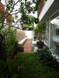 รวมไอเดียจัดสวนพื้นที่หลังบ้าน
