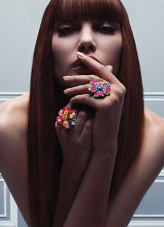 Catherine McNeil by Inez & Vinoodh for Dior Fine Joaillerie