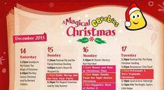 Cbeebies Christmas guide