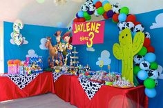 "Photo 1 of 52: Toy Story 3 / Birthday ""Jaylene's 3rd Birthday!"" 