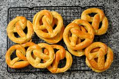 Homemade Soft Pretzels by Cathy Chaplin | GastronomyBlog.com, via Flickr