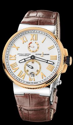 Call 813-875-3935 or 727-898-4377 to buy genuine, brand new Ulysse Nardin Timepieces from an Authorized Dealer! Model 1185-122/41