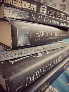""" ""Books make great gifts because they have whole worlds inside of them. "" — Neil Gaiman "" It's half term. It's the deep breath before the plunge. Students are tackling revision/dragons, getting..."