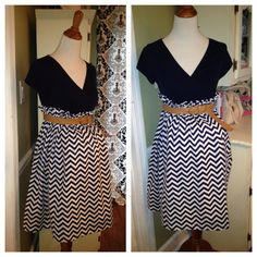 Hey, I found this really awesome Etsy listing at https://www.etsy.com/listing/152220141/chevron-maternity-skirt