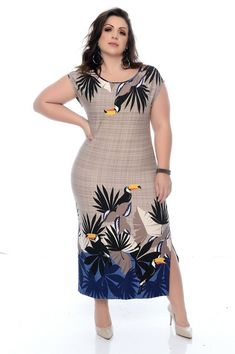 Vestido Plus Size Echiley Elegant Summer Dresses, Beautiful Dresses, Casual Dresses, Frock Fashion, Women's Fashion Dresses, Plus Size Dresses, Plus Size Outfits, Yellow Skirt Outfits, Latest African Fashion Dresses